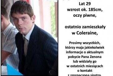 Ktokolwiek widział, ktokolwiek wie! Rodzina szuka zaginionego Pana Zenona Stenke