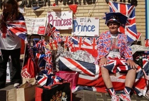 Szalona radość Brytyjczyków z narodzin Royal Baby!