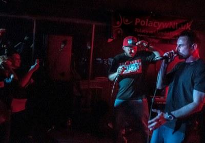 Koncert Abradab i Joka (Kaliber 44) w Belfaście 2015