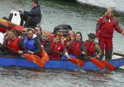 Wyścigi Smoczych Łodzi w Belfaście – Dragon Boats Race 2015