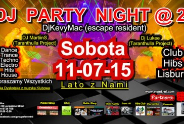 Dj Party Night Part 2 – Polska dyskoteka z muzyką Klubową