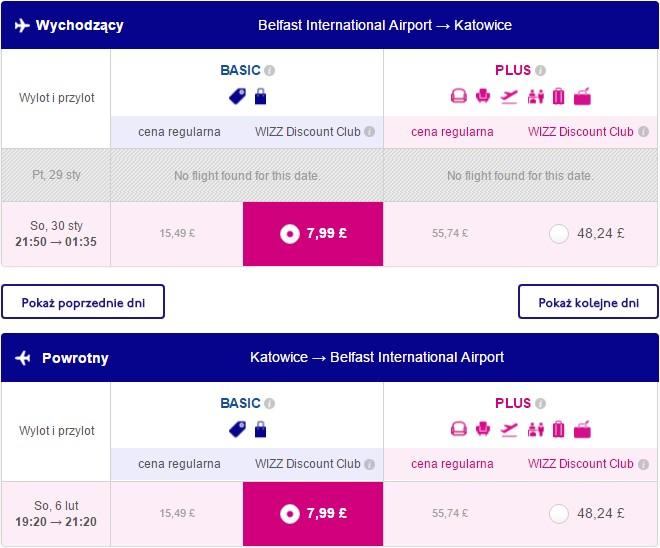 Wizz Air: Katowice z Belfastu za £15.98 w dwie strony - Travelmaniak