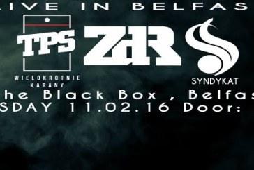 Koncert TPS, ZDR, Syndykat w Belfaście !