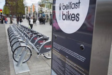 Sieć wypożyczalni miejskich rowerów w Belfaście rozszerza swoją działalność