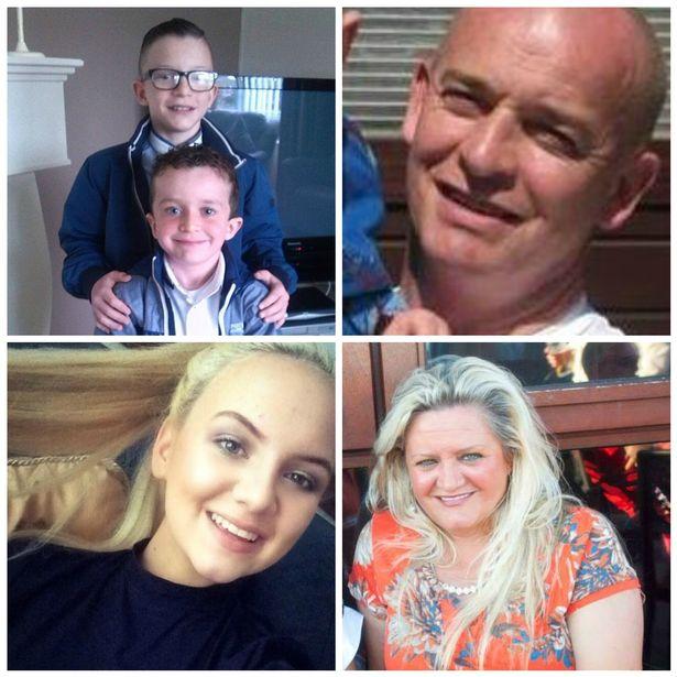 Tragiczna śmierć pięcioosobowej rodziny