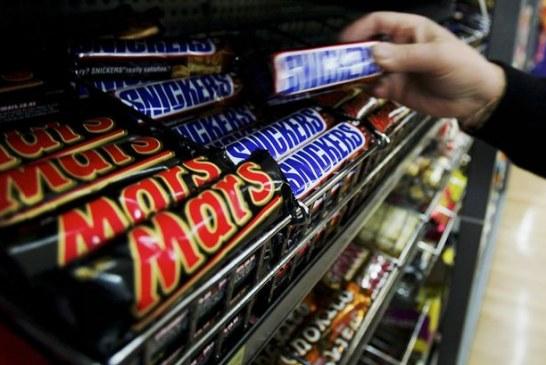 Kawałki plastiku w batonikach powodem wycofywania słodyczy koncernu Mars również ze sklepów w Irlandii Północnej